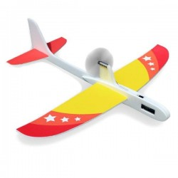 Super Capacitor Electric Hand Throwing Free-flying Glider DIY Airplane Model