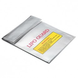 Li-Po Battery Explosion-Proof Safety Bag Charging Sack 18x23x6cm