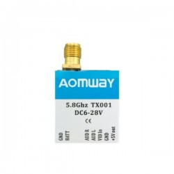 Aomway TX001 Adjustable Switchable 25mW/200mW/600mW 5.8G 40CH FPV Transmitter
