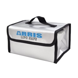 ARRIS Fire Retardant LiPo Battery Portable Safety Bag