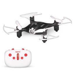 Syma X20 2.4G 4CH 6-axis Gyro Pocket Drone RC Quacopter RTF with Headless Mode Altitude Hold 3D-flip