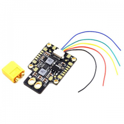 GEPRC XT60-PDB 5V 12V Dual BEC PDB with LC Filter for RC Multirotor FPV Racing Drone