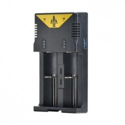 ADEASKA Q2 3A Intelligent Universal Smart Battery Charger for IMR/Li-ion Ni-MH/Ni-Cd Battery 18650