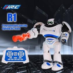 JJR/C R1 Intelligent Programmable Slide Walk Shoot Missile Dancing Infrared Control Robot
