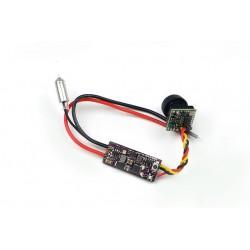 Q100-MINI 5.8G 16CH VTX+Camera 25mW / 100mW Switchable 7v-18v Image Transmission for FPV Racing Drone