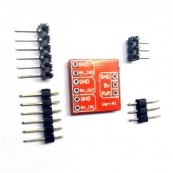 FPV Multi-camera Mini Two-way Electronic Switch Video Switcher Module for RC Drone FPV Racing