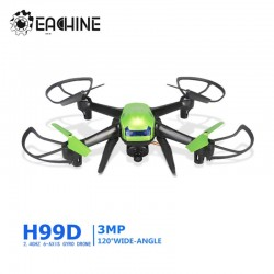 Eachine H99D 3MP Wide Angle HD Camera 2.4G 6 Axis Headless Mode RC Quadcopter RTF