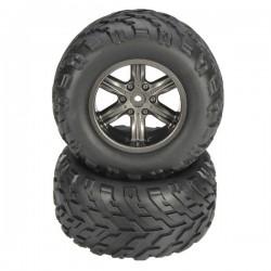 9115 2.4GHz Car Spare Parts Tyres With Sponge 15-ZJ01