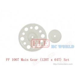 FF 1007 Main Gear (120T x 64T) Set