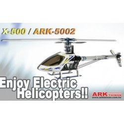 X-500 PRO CCPM EP HELICOPTER/ARK-5002 FULL METAL