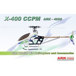 X-400 CCPM EP HELICOPTER KIT/ARK-4008