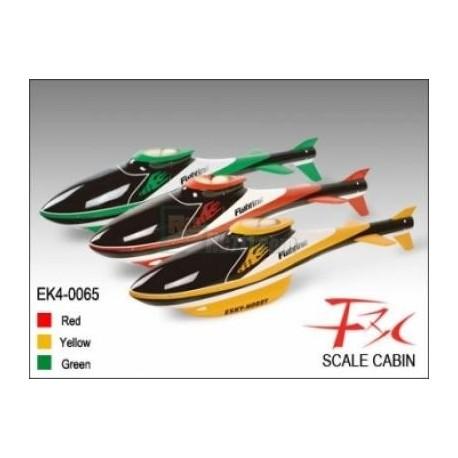 Scale Cabin F3C (Red) - Belt CP V1/2
