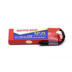 OUTRAGE XP25 2S1P 7.4V 1800mAH 25C - XTREME SERIES