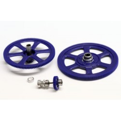 Main Gears/Tail Drive System Trex (106T) SuperFrame - HDX450SE