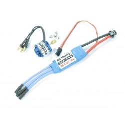 Elf Hobby (EH000-001) 4200Kv Outrunner Brushless Motor & 30A ESC