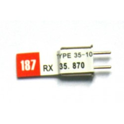 Dual Conversion Crystal 35Mhz