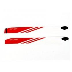 Esky Main Blade 315*32*4.6mm (Wooden,Red Color ) - Belt CP V2
