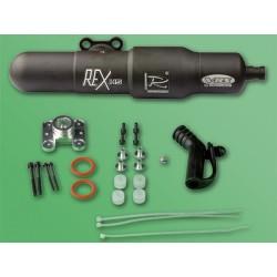 Rex H5 Muffler+Header Set for Heli. 50/60 Engines for T-Rex 600
