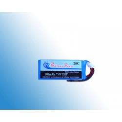 BP20-800/2S 7.4V 800mAh 20C