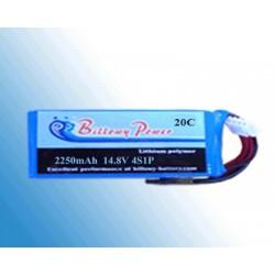BP20-2250/4S 14.8V 2250mAh 20C