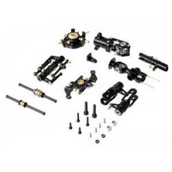 Alloy Metal Upgrade Rotor Head Kit For Esky Belt-CP V2 (Black)