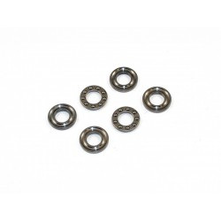 6mm - 3 Part Grooved Thrust Bearings - F6-14G