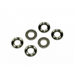 10mm - 3 Part Grooved Thrust Bearings - F10-18G