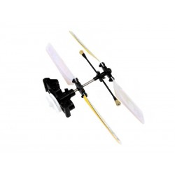 Copter Mini X 6025-1 Main Rotor Head w/ Blade Set (Yellow)