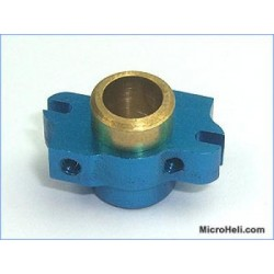 MicroHeli Precision CNC Washout Base ( BLUE ) - Blade 400