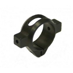 TREX 500 3D Lightweight Tail Clamp BLACK