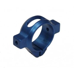TREX 500 3D Lightweight Tail Clamp BLUE
