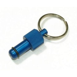 Exhaust Deflector Plug - 10mm - BLUE