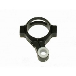 Trex 700 - 3D Tailboom Clamp & Pushrod Guide - BLACK