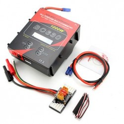 AOK BC630 1000W 30A Battery Balance Charger/Discharger LCD Display with Temperature Sense Cable
