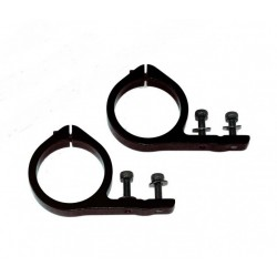 Trex 600/700 Tail Servo Mounts - BLACK