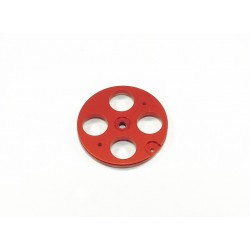 "35mm ""Pull-Pull"" Cable Wheel - JR - RED"