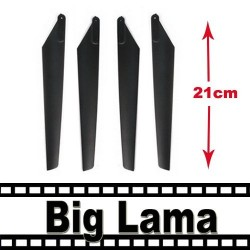 Esky RC helicopter Co-axial big lama blade A B