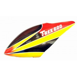Fiberglass Canopy for Trex-600 Electric
