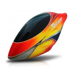 Canomod HalfBloodz Airbrush Fiberglass Canopy - T-REX 600E