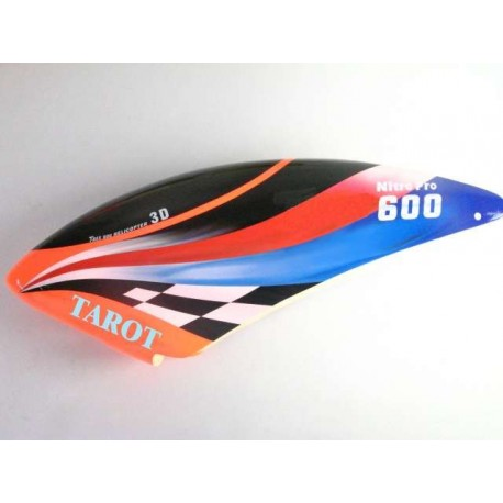Tarot 600 Fiberglass Canopy / magic II - Orange