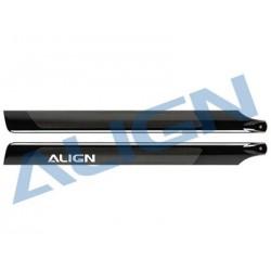 ALIGN 600D Carbon Fiber Blades HD600C - T-REX 600/600CF