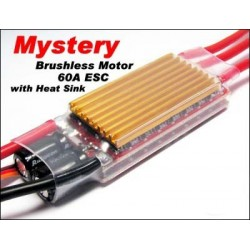 Mystery Brushless Motor 60A ESC Red (FM60A)