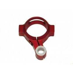 Trex 700 - 3D Tailboom Clamp & Pushrod Guide - RED