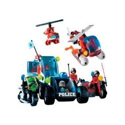 MECCANO 710410 POLICE & RESCUE SET