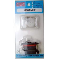 GWS Naro MAX-BB Servo w/ JR Plug 14g/.15sec/1.8kg