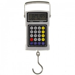 "1.9"" LCD Electronic Hook Scale with Time/Temperature"