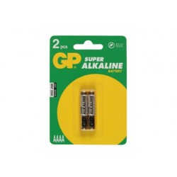GP Alkaline Super 2xAAAA Battery (25A-U2)