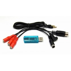 USB Simulator Cable 3 in 1 (RealFlight G4.5-FMS-AEROFLY)