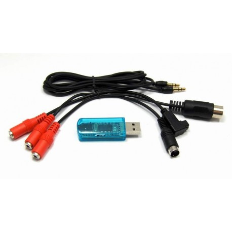 USB Simulator Cable 3 in 1 (RealFlight G4 5-FMS-AEROFLY)