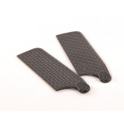 62mm Carbon Fiber Tail Blade For Trex 450 Helicopter